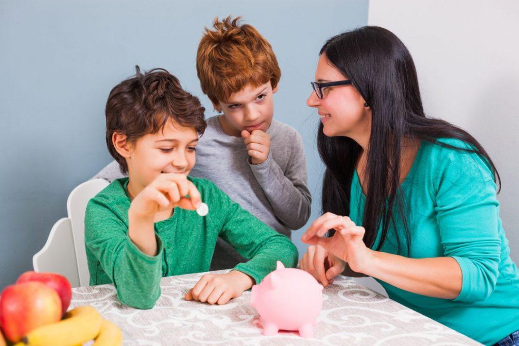 valoarea banilor copii